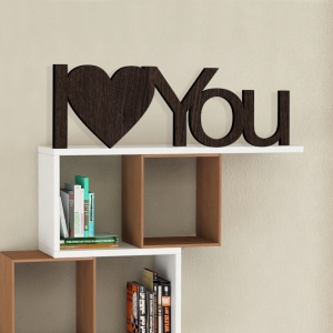 I♥YOU - napis 3D