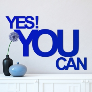 Yes! You can - napis 3D
