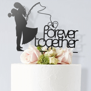 Forever together - topper na tort